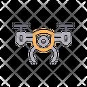 Drone Copter Camera Icon