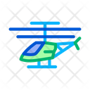Drone Helicopter Fly Icon