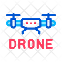 Drone Fly Toy Icon
