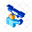Human Drone Gadget Icon