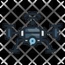 Drone Camera Device Icon