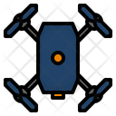 Drone Camera Topview Icon