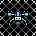 Drone Photo Camera Icon
