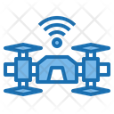 Drone Architecture Intelligen Icon