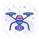 Drone Technology Device Icon