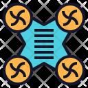 Drone Camera Technology Icon