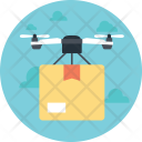 Drone Air Delivery Icon