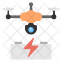 Drone Battery Charging Icon