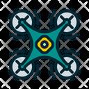 Drone Below Icon