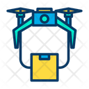 Drone Transportation Transport Package Icon