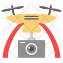 Quadcopter Drone Camera Air Drone Icon