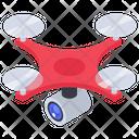 Drone Camera Aerial Quadcopter Icon