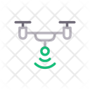 Drone Copter Wireless Icon