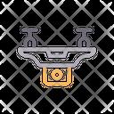 Drone Copter Capture Icon