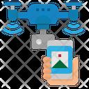Drone Smart Phone Icon