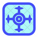 Drone Helicopter Aerial Icon