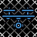 Drone Camera Video Recording Icon