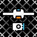 Drone Camera Robot Icon