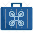 Drone Case Suitcase Icon