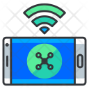 Drone control via phone Icon