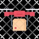 Quadrupter Delivery Box Icon