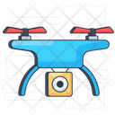 Drone Delivery Quadcopter Delivery Drone Shipment Icon