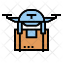 Drone Delivery Icon