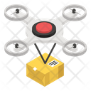 Drone Delivery Drone Shipment Drone Transport Icon