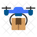 Drone Delivery Online Icon