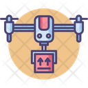 Drone Delivery Shipment Delivery Icon