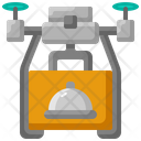 Delivery Drone Food Icon