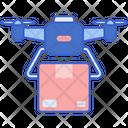 Drone Delivery Icon