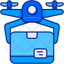 Drone Delivery Delivery Box Package Icon