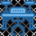 Transport Drone Ai Icon