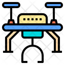 Transport Drone Ai Icon
