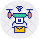 Drone Delivery Delivery Drone Icon