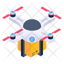 Drone Delivery Quadcopter Delivery Drone Consignment Icon