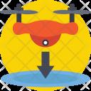 Drone Landing Pad Icon