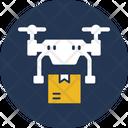 Drone Logistics Copter Logistics Icon