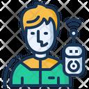Drone Operator Controller Icon