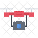 Drone Photography Camera Icon