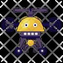 Drone Robot Icon