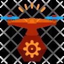 Settings Drone Icon