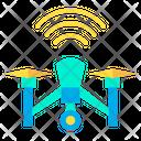 Drone Signal Icon