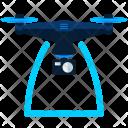 Camera Span Drone Icon