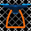 Drone Span Radius Icon