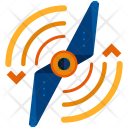 Drone Spin Left Icon