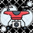 Drone Surveillance Icon