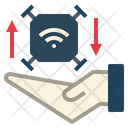 Control Drone Wireless Icon