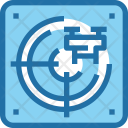 Drone Tracking Icon